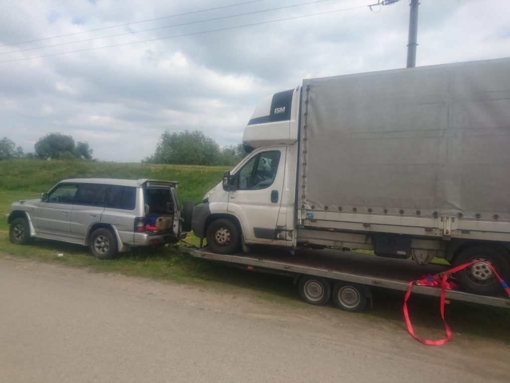Odťah nákladných áut