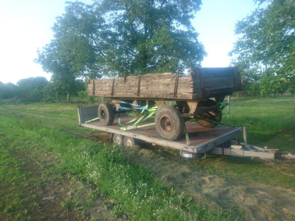 Autopreprava poľnohospodárskej techniky