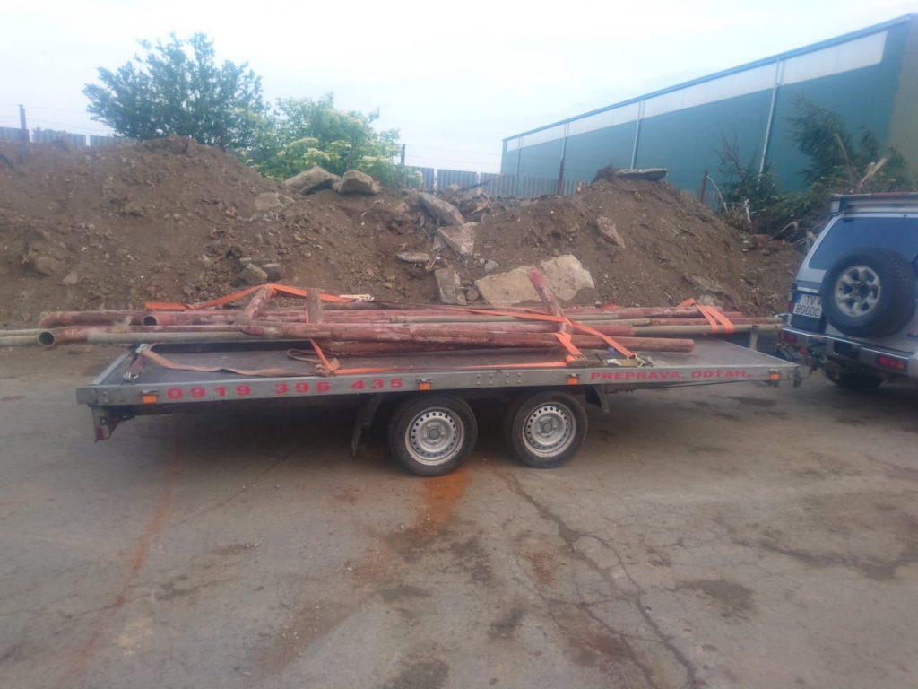 Preprava dreva, stavebného materiálu a iných dlhých alebo nadrozmerných predmetov